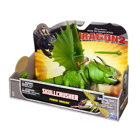 HOW TO TRAIN YOUR DRAGON 2 SKULLCRUSHER POWER DRAGON LARGE ACTION FIGURE