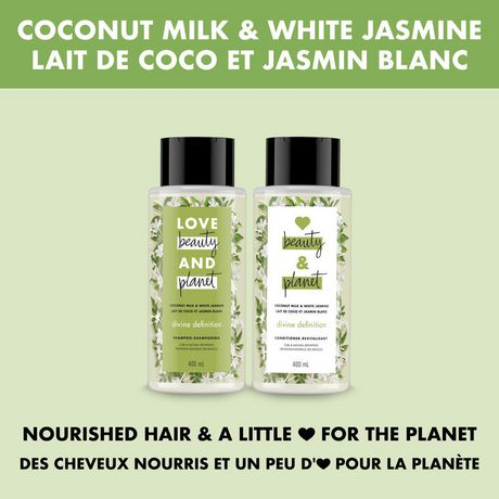 Love Beauty And Planet Coconut Milk with Jasmine Divine Definition Conditioner 400 ML - image 7 of 9