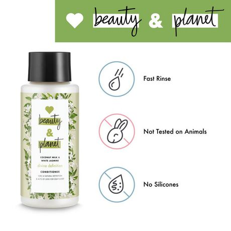 Love Beauty And Planet Coconut Milk with Jasmine Divine Definition Conditioner 400 ML - image 5 of 9