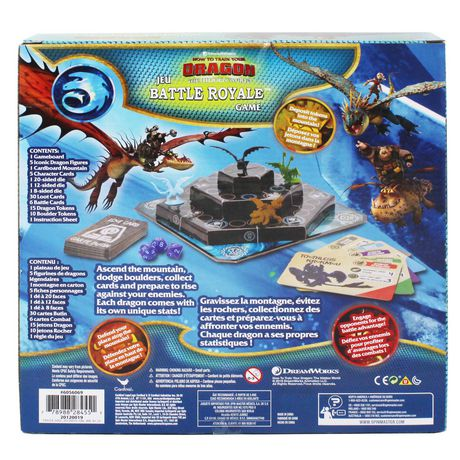Dreamworks How to Train Your Dragon The Hidden World Battle Royale Board Game - image 3 of 4