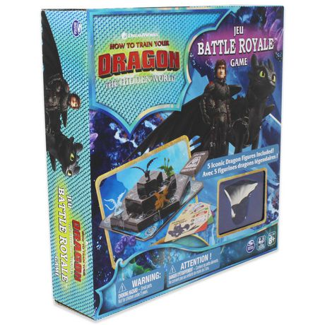 Dreamworks How to Train Your Dragon The Hidden World Battle Royale Board Game - image 2 of 4