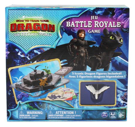 Dreamworks How to Train Your Dragon The Hidden World Battle Royale Board Game - image 1 of 4