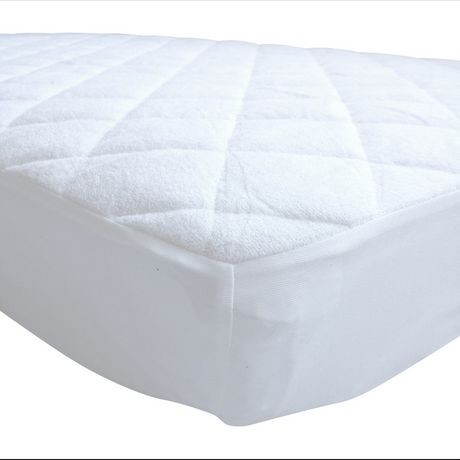 Baby Works Quilted Amp Fitted Bamboo Crib Mattress Protector