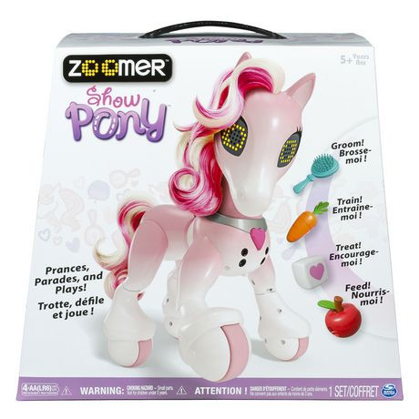 Zoomer - Show Pony with Lights, Sounds and Interactive