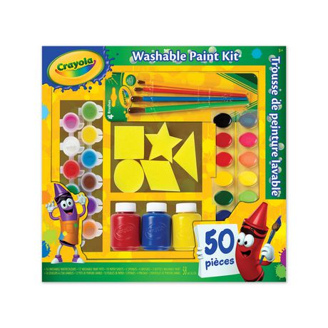 Washable paint kit walmart canada for Walmart arts and crafts paint