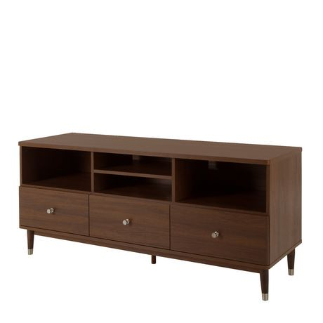 meuble t l avec tiroirs pour t l viseurs jusqu 60 pouces de la collection olly de meubles. Black Bedroom Furniture Sets. Home Design Ideas