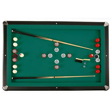 Hathaway renegade slate bumper pool table walmart canada - Bumper pool bumpers ...