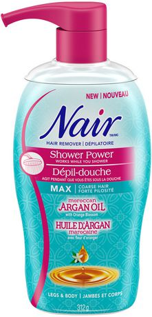 Nair™ Shower Power™ Moroccan Argan Oil Hair Remover ...