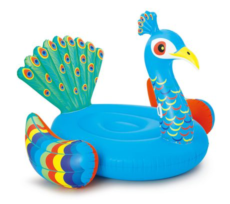 Play Day Extra Large Peacock Pool Float - image 2 of 3