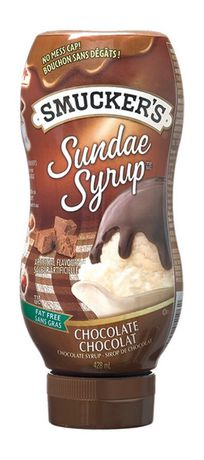 Smucker's Sundae Syrup Chocolate Flavoured Syrup 428mL - image 1 of 2