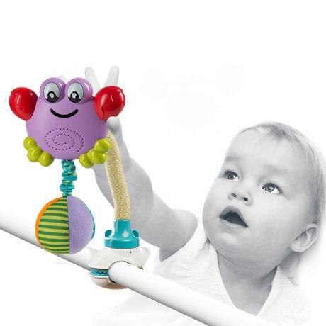 Fun Flex Dancing Crab Set Crib And Stroller Baby Toys Walmart Ca