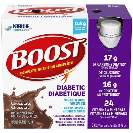 boost diabetic chocolate nutritional supplement drink walmart canada. Black Bedroom Furniture Sets. Home Design Ideas