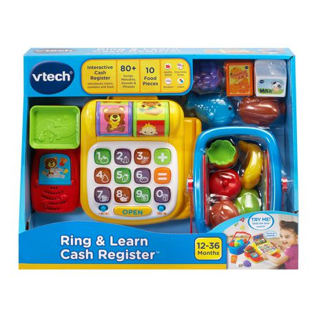 VTech Ring & Learn Cash Register™ Interactive Learning Toy ...