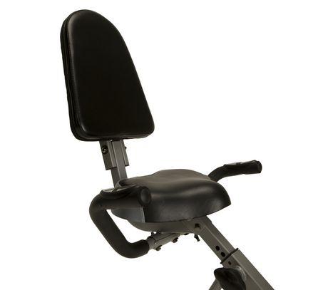 Vélo pliage couché compact EXERPEUTIC 400XL avec capteurs de pouls - image 2 de 9