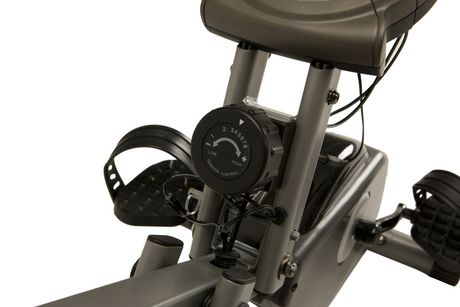 Vélo pliage couché compact EXERPEUTIC 400XL avec capteurs de pouls - image 5 de 9