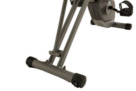 Vélo pliage couché compact EXERPEUTIC 400XL avec capteurs de pouls - image 6 de 9
