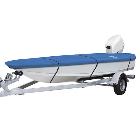 Classic accessories stellex all seasons boat cover for Walmart fishing boats