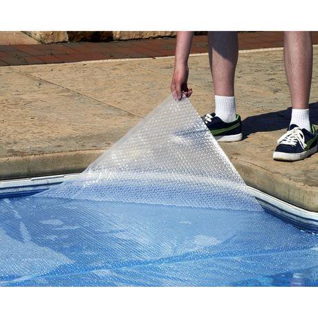 Blue wave toile solaire ronde 12 mm pour piscine hors for Prix piscine hors terre 24 pieds