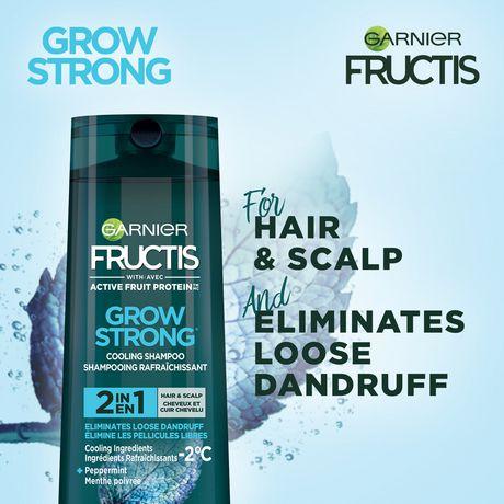 Grow Strong 2 in 1 - Fights loose dandruff Shampoo Fortifying Shampoo , 250 mL | Walmart Canada