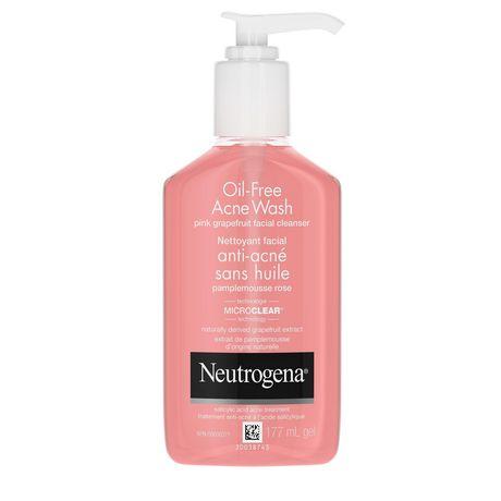 Neutrogena Oil Free Acne Cleanser, 177mL - image 1 of 8