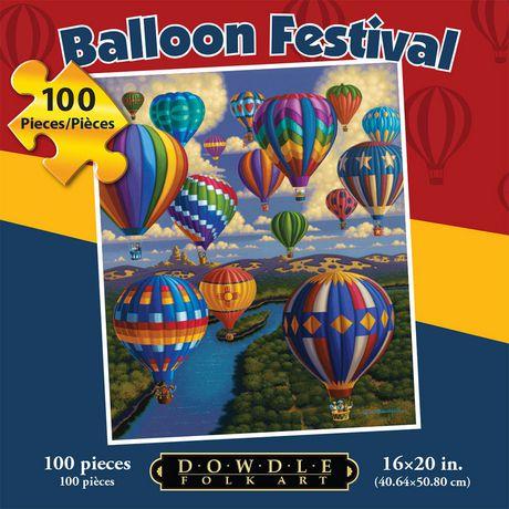 Festival des ballons - 100 morceaux - image 1 de 3