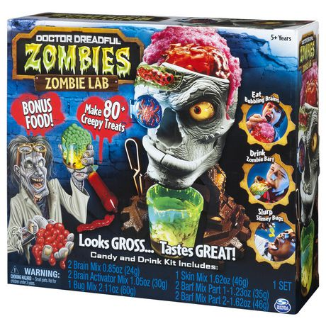 Doctor Dreadful Zombies Zombie Lab With Candy And Drink Maker