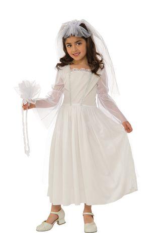 #WALMARTCANADA,Rubie's Bride Costume, Medium White Medium