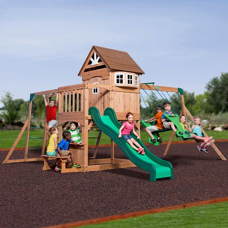 Backyard Discovery Montpelier Swing Set
