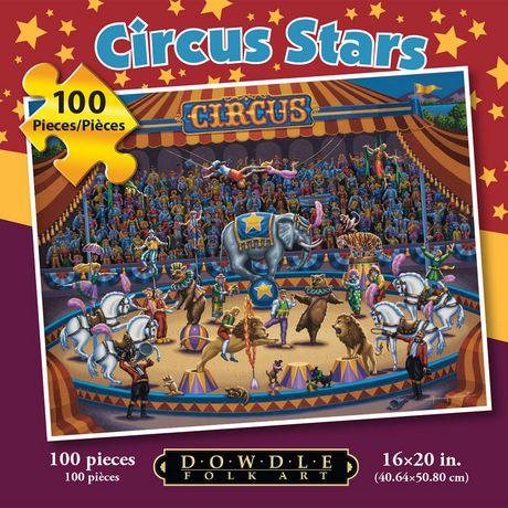 Étoiles de cirque - 100 morceaux - image 1 de 3