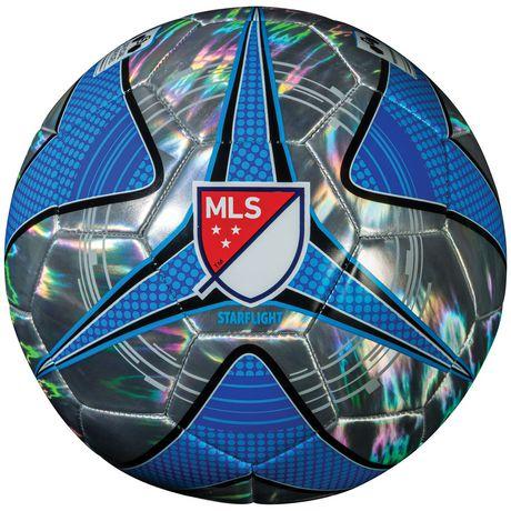 Ballon de soccer argent chromè et bleu de la MLS par Franklin Sports - image 2 de 2