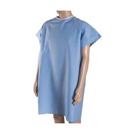 Robe de convalescence DMI avec attaches arrière en ruban - image 2 de 4