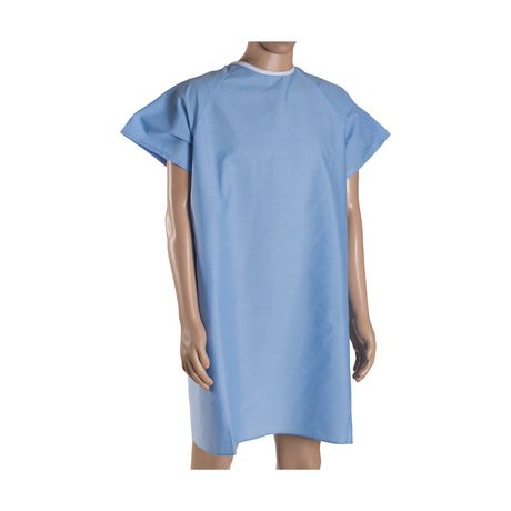 Robe de convalescence DMI avec attaches arrière en ruban - image 4 de 4