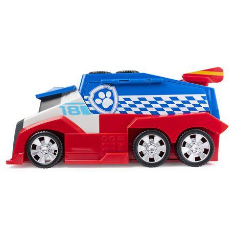PAW Patrol, Ready, Race, Rescue, Véhicule d'équipe Mobile Pit Stop avec effets sonores, pour les enfants à partir de 3 ans - image 9 de 9
