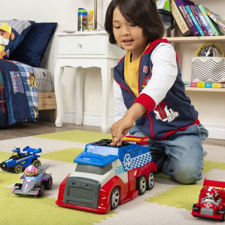 PAW Patrol, Ready, Race, Rescue Mobile Pit Stop Team Vehicle - image 7 of 9
