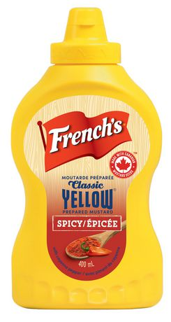 2d517311eaae French s Classic Yellow Mustard Prepared Mustard Spicy with Cayenne Piment  - image 1 ...