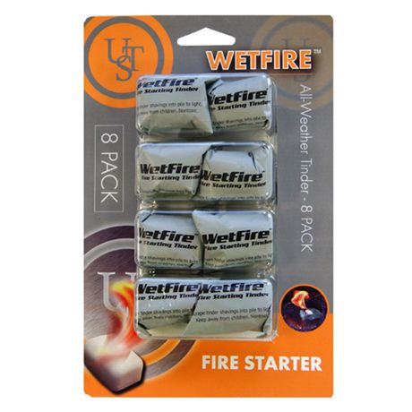 Ultimate Survival Technologies WetFire Tinder 8 Pack - image 1 of 3