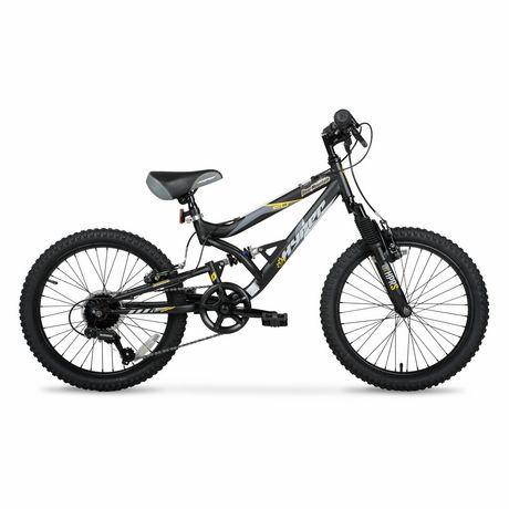 """20"""" Hyper Bicycles Bear Mountain Vélo de montagne à suspension totale Unisexe en acier - image 1 de 5"""