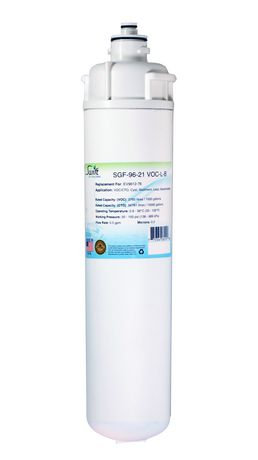 Everpure EV9612-76, EV9612-71, EV961276, EV961271 Filter Replacement SGF-96-21 VOC-L-B by Swift Green Filters - image 1 of 4