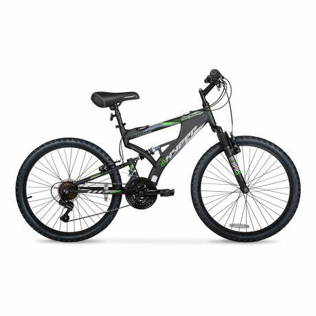 "24"" Hyper Bicycles Bear Mountain Full Suspension Unisex Aluminum Mountain Bike - image 1 of 5"