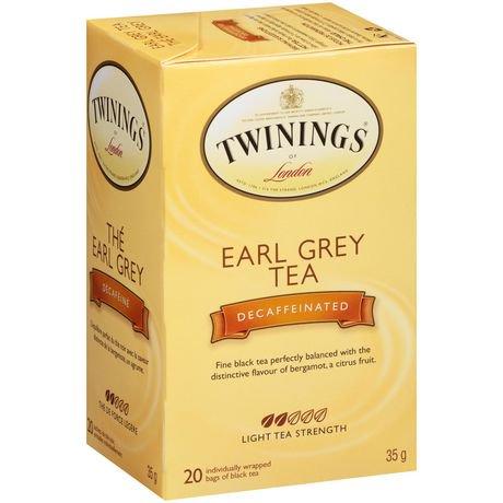 """Résultat de recherche d'images pour """"thé earl grey décaféiné twining"""""""