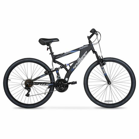 Dual Suspension Mountain Bikes Walmart >> 27 5 Hyper Bicycles Bear Mountain Full Suspension Men S Aluminum Mountain Bike