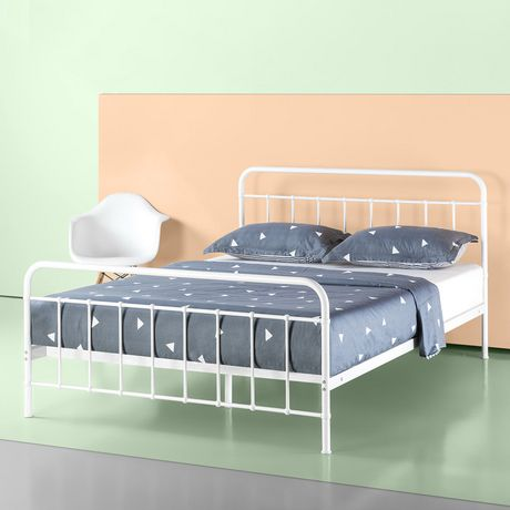 Zinus Florence Metal Platform Bed Frame Mattress