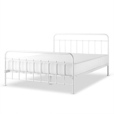 Zinus Florence Metal Platform Bed Frame Mattress