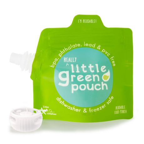 Little Green Pouch Reusable Food Pouch - image 1 of 1