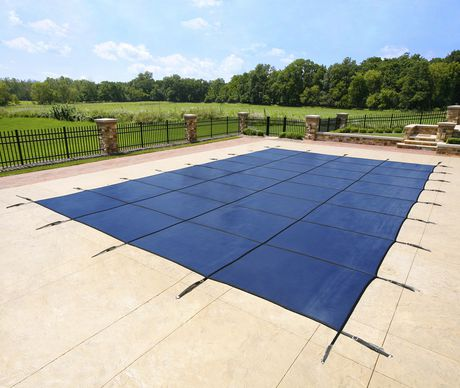 Blue Wave 14 Ft X 28 Ft Rectangular In Ground Pool Safety