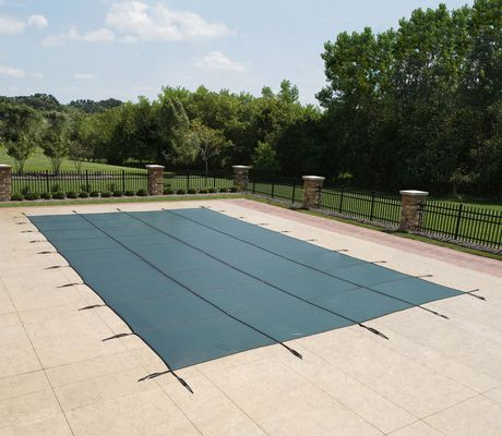 Blue wave 15 ft x 30 ft rectangular in ground pool safety - A rectangular swimming pool is 30 ft wide ...