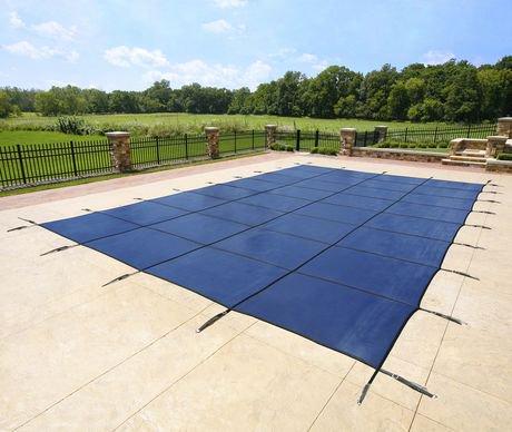 Couvre piscine rectangulaire pour piscine creus e for Accessoire piscine 62