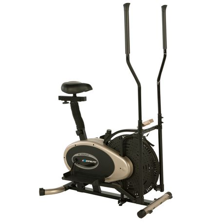 Exerpeutic Gold XL9 Aero Elliptical and Exercise Bike Dual Trainer - image 2 of 8