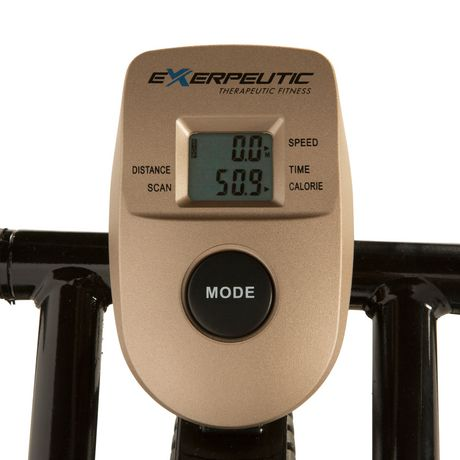 Exerpeutic Gold XL9 Aero Elliptical and Exercise Bike Dual Trainer - image 5 of 8
