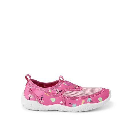 Kids Aqua Shoes Size 13-1 Girls Water Shoes Pink//grey Sun /& Sky NWT